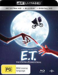 「E.T.」の4k UHDは9月に出る?! - Suzuki-Riの道楽