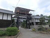 冠木門の屋根工事中です。 - 吉田建築計画事務所-プロジェクト-