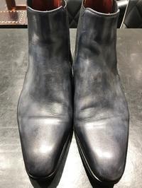 ムラ感を活かすお手入れ - 玉川タカシマヤシューケア工房 本館4階紳士靴売場