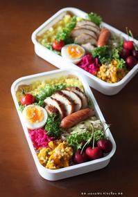 ローストチキン カレー&ガーリック ✿ 私はダイエット(๑¯﹃¯๑)♪ - **  mana's Kitchen **