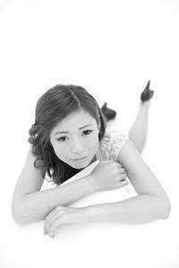 本宮もかちゃん20 - モノクロポートレート写真館