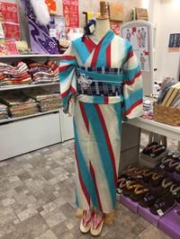 今日の浴衣ディスプレイ☆ - Tokyo135° sannomiya