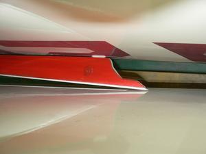 スポイラーの塗装 -