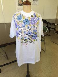 ペイントクラフト教室 宣伝用Tシャツ - おさや糸店