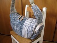 ori-some  濃藍 でバッグ - M's Factory