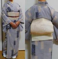 梅雨入りの楊柳着物 - うまこの天袋