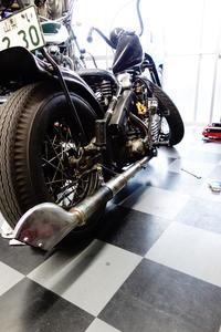平日の授業風景 - Vintage motorcycle study