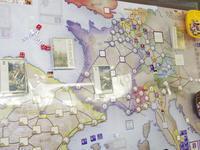 YSGA 六月例会の様子その13〔(Compass Games)No Peace Without Spain! ノー・ピース・ウィズアウト・スペイン スペイン継承戦争のカードドリブン〕 - YSGA(横浜シミュレーションゲーム協会) 例会報告