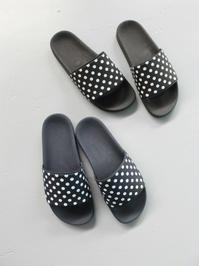 NEEDLES Polka Dot Slide Sandal - 『Bumpkins putting on airs』
