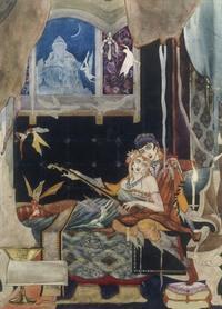 ハリー・クラーク:キーツのバラッドの挿絵から - Books
