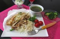 チキンのアジアンケバブ - Mme.Sacicoの東京お昼ごはん