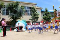 ミストの中で(ひまわり) - 慶応幼稚園ブログ【未来の子どもたちへ ~Dream Can Do!Reality Can Do!!~】