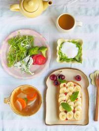 心が晴れる朝ごはん - 陶器通販・益子焼 雑貨手作り陶器のサイトショップ 木のねのブログ