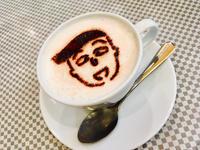 花輪くんキャラメルラテ - コーヒー依存症
