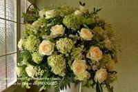 開店の御祝に♪スタンド花 - 花色~あなたの好きなお花屋さんになりたい~