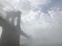 霧のブルックリン・ブリッジ - はるちゃんのNY生活日記