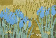 青い花 - 制作ノート  << click for all articles