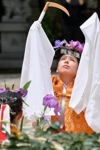 難波神社 菖蒲神事 - ゲ ジ デ ジ 通 信