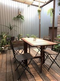 IKEAの伸縮ガーデンテーブル - ケセラセラ~家とGREEN。
