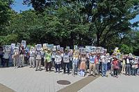 いらない 許さない アベ政治 天皇制 ヘイトスピーチ 戦争 共謀罪 - ムキンポの exblog.jp