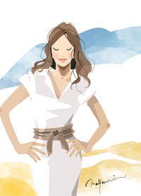 スコブル vol.23 cover そろそろ本気で - 美しい女性 美容 花 フード 女性誌 web 広告 イラストレーション まゆみん