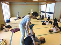 5月12日、25日 骨盤ケア体操教室を開催しました - 子育てサークル たんぽぽの会