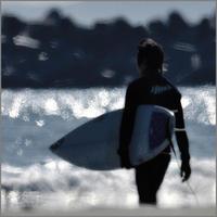 サーファー - みなかわ写瞬間