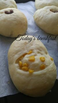 色々白パンの朝ごパン - 料理研究家ブログ行長万里  日本全国 美味しい話