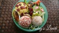 紫陽花弁当 - 料理研究家ブログ行長万里  日本全国 美味しい話