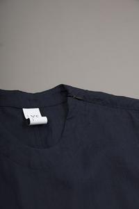 NO CONTROL AIR  Herdmans Linen S/S Pullover Shirt - un.regard.moderne