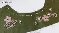 ヨークに刺繍 - Bloom のんびり日記
