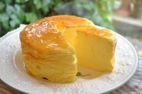 スフレチーズケーキ - 調布の小さな手作りお菓子・パン教室 アトリエタルトタタン