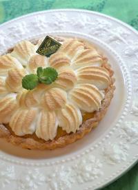 マイヤーレモンのレモンメレンゲタルト - 調布の小さな手作りお菓子・パン教室 アトリエタルトタタン