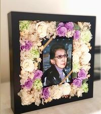 吹田百里子さまの一周忌でした。安藤はくぶんさん作のお花をお送りしました - 生きる歓び Plaisir de Vivre。人生はつらし、されど愉しく美しく