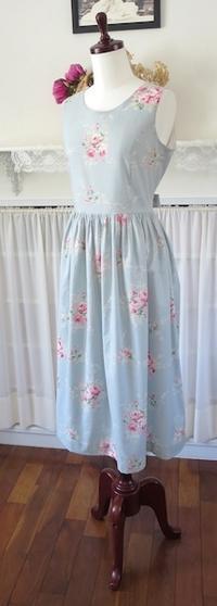 ワンピース『レミ・ギャザー』 - いつかリリアン・ギッシュのように…手作りお洋服のあとりえ便り