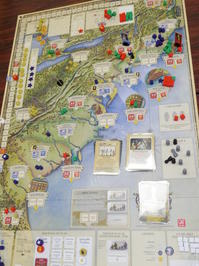YSGA 六月例会の様子その18〔2人で(GMT)Liberty or Death〕 - YSGA(横浜シミュレーションゲーム協会) 例会報告
