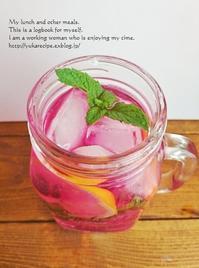 イエシゴトVol.215 夏を乗り切る「赤紫蘇ジュース」と今年の前に昨年の梅干処理 - YUKA'sレシピ♪