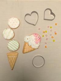 【募集】アイスクリームアイシングクッキー ワークショップのお知らせ(長野・上田市) - おやつは別腹