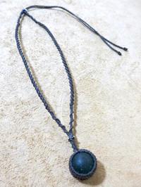 【マクラメ&ヘンプ】#125 シーグラスのネックレス - Shop Gramali Rabiya (SGR)