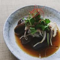 KFB福島放送「ヨジデス」6/22の撮影と…焼き茄子のサラダ。 - ふくしま「I-e」ごはん。