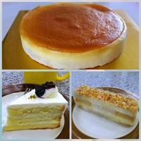 スフレチーズケーキ&給食モニタリングその後 - キューニーの食卓