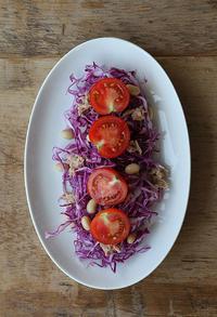 紫と赤のサラダ - Nasukon Pantry