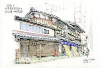 下京区万寿寺通の京仏壇店 - 風と雲
