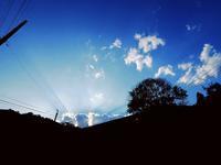 2017年06月10日・・・山裾散歩のデジスケッチ - 空と雲,季節の風と光と・・・景色