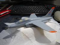 ハセガワ 1/72 川崎T-4 製作中 (15) - DNF