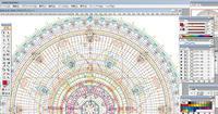 編み図マンダラ     My Crochet Mandala graph - 糸始末な日々         Thread&Yarn Handing Days
