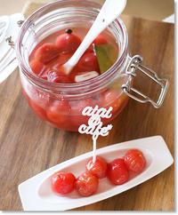 トマトのピクルス - aiai @cafe