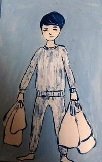 ゴミの分別 - たなかきょおこ-旅する絵描きの絵日記/Kyoko Tanaka Illustrated Diary
