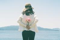海と花束と女の子 - photomo