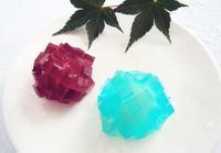 和菓子で紫陽花! - 簡単電子レンジで作れる和菓子 鳥居満智栄の和菓子日和